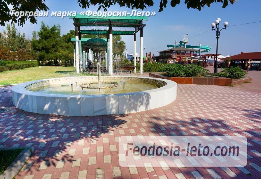 фонтан на берегу моря