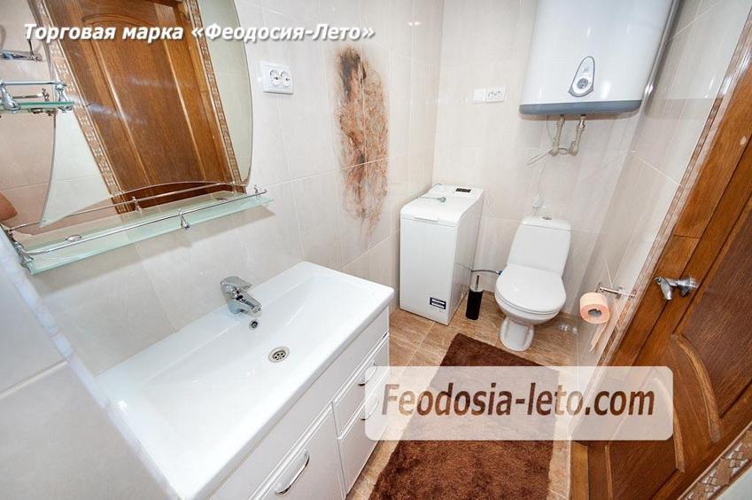 Шикарный санузел  в квартире в городе Феодосия с изысканной плиткой