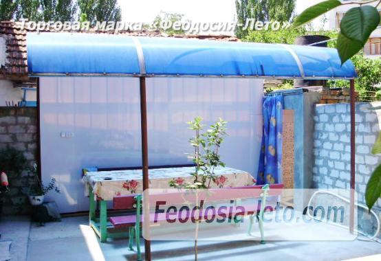 2-комнатный дом у моря в Феодосии, улица Чкалова - фотография № 7