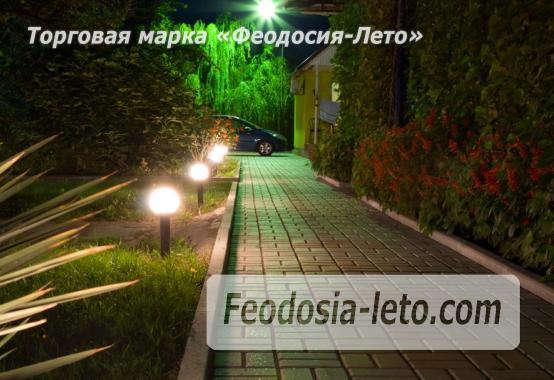 База отдыха на Золотом пляже в Феодосии на Керченском шоссе - фотография № 25