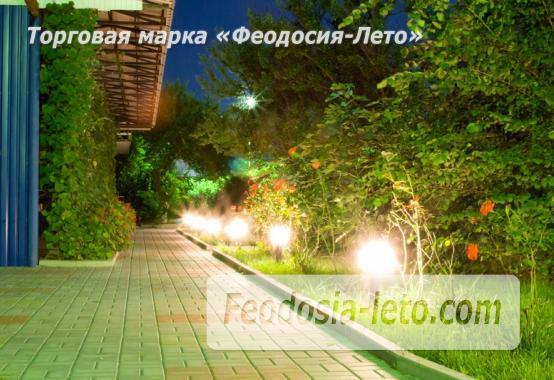 База отдыха на Золотом пляже в Феодосии на Керченском шоссе - фотография № 26
