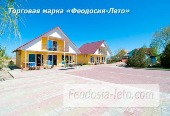 База отдыха на Золотом пляже в Феодосии на Керченском шоссе - фотография № 7