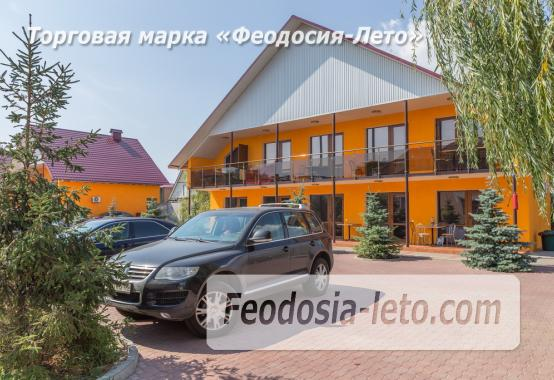 База отдыха на Золотом пляже в Феодосии на Керченском шоссе - фотография № 34