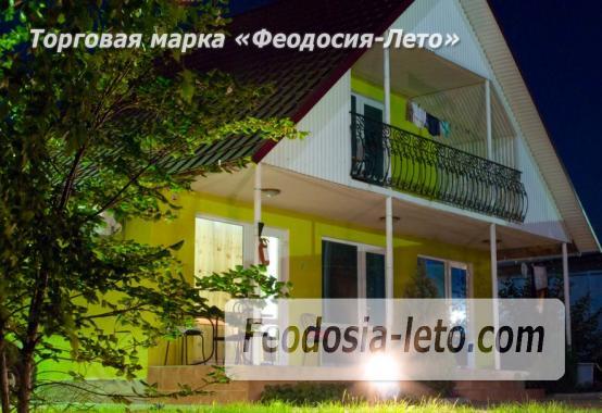 База отдыха на Золотом пляже в Феодосии на Керченском шоссе - фотография № 55