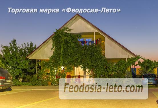 База отдыха на Золотом пляже в Феодосии на Керченском шоссе - фотография № 60