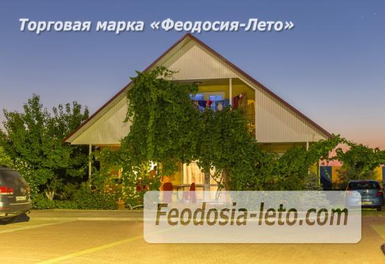 База отдыха на Золотом пляже в Феодосии на Керченском шоссе - фотография № 62