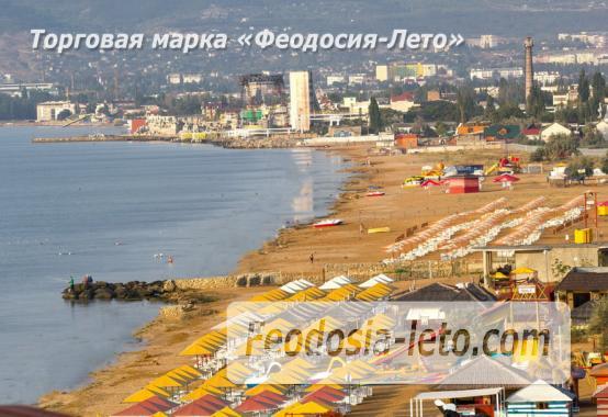 База отдыха на Золотом пляже в Феодосии на Керченском шоссе - фотография № 85