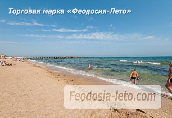 Эллинг на берегу моря на Золотом пляже в Феодосии - фотография № 15
