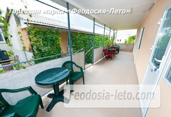 Гостевой дом на улице Черноморская в Береговом Феодосия Крым - фотография № 16