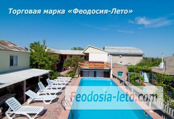 Гостиница с бассейном на улице Дружбы в Феодосии - фотография № 1