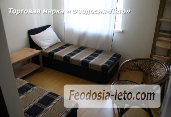 Гостиница в Приморском Феодосия на берегу моря, переулок Рабочий - фотография № 24