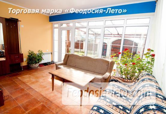 Гостиница в Приморском Феодосия на берегу моря, переулок Рабочий - фотография № 4