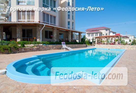 Пансионат с бассейном в Феодосии переулок Танкистов - фотография № 35