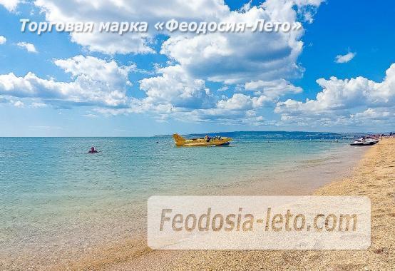 Береговое Феодосия пляжи - фотография № 1