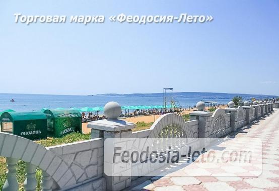 Береговое Феодосия пляжи - фотография № 5