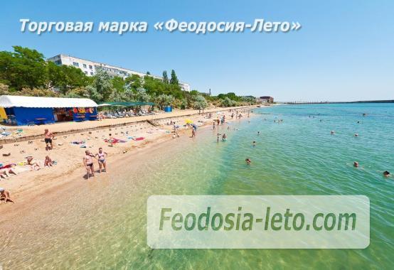 пляжи в посёлке Приморский - фотография № 1