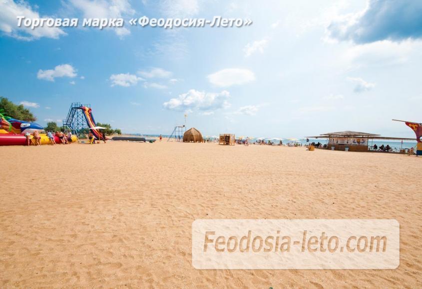 Песчаный пляж в городе Феодосия - Санта Круз - фотография № 13