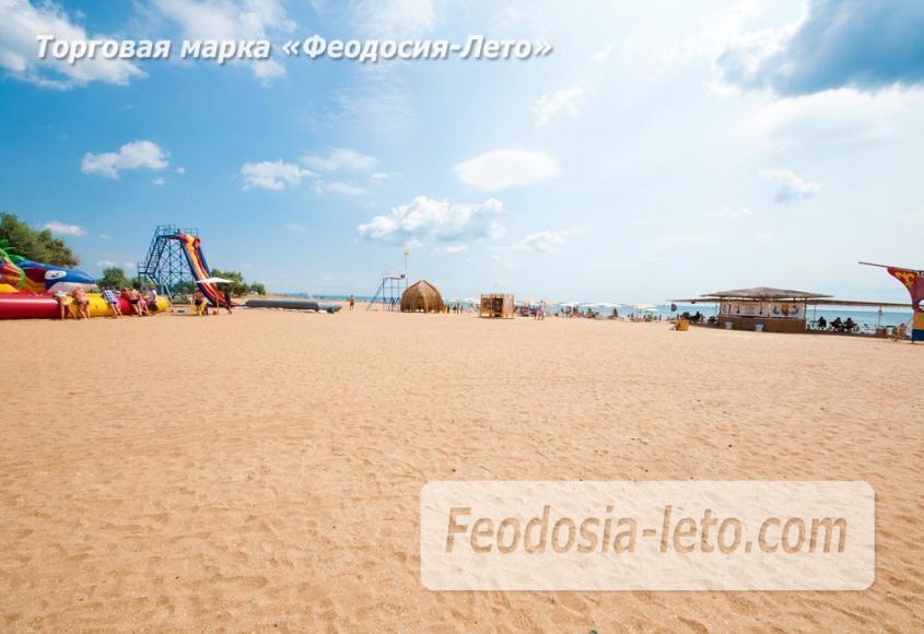 Песчаный пляж в городе Феодосия - Санта Круз - фотография № 17