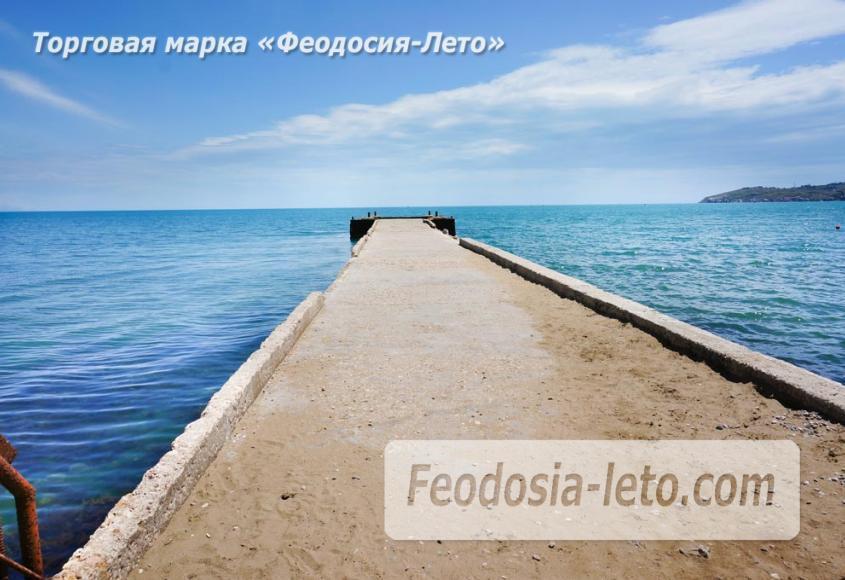 Пляж Ай-Петри, рядом с кафе Суворинские камни в Феодосии - фотография № 17