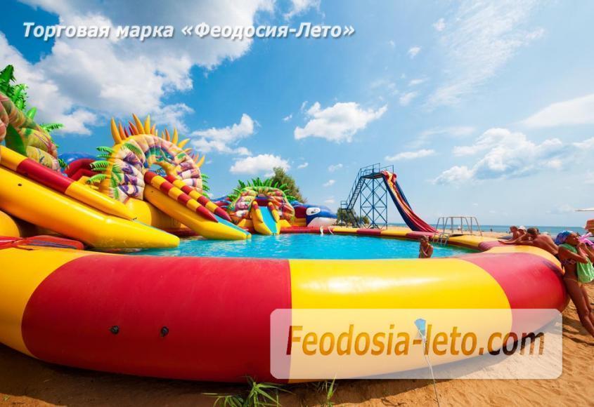 Песчаный пляж в городе Феодосия - Санта Круз - фотография № 1