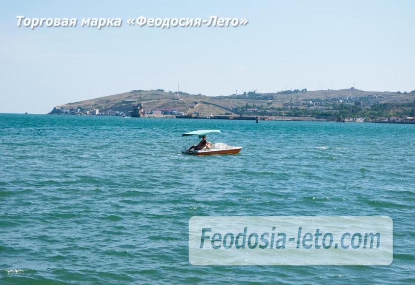 Галечный пляж Камешки в г. Феодосия - фотография № 21