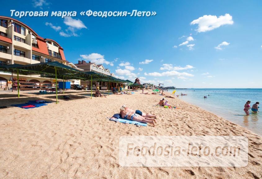 Пляж Жажда в Феодосии - фотография № 2