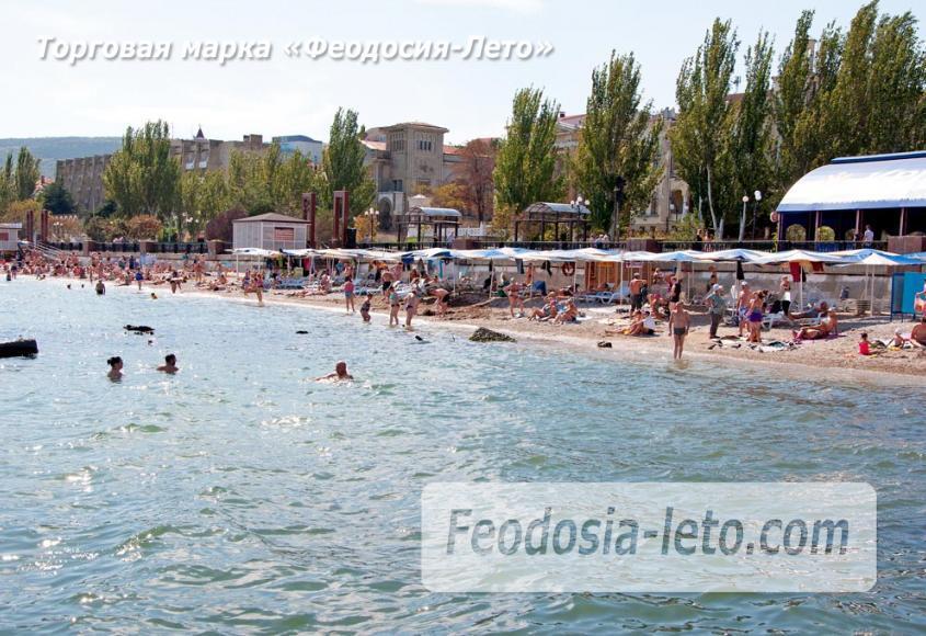 Галечный пляж Камешки в г. Феодосия - фотография № 22