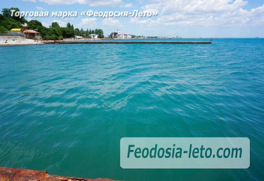 Пляж Ай-Петри, рядом с кафе Суворинские камни в Феодосии - фотография № 19