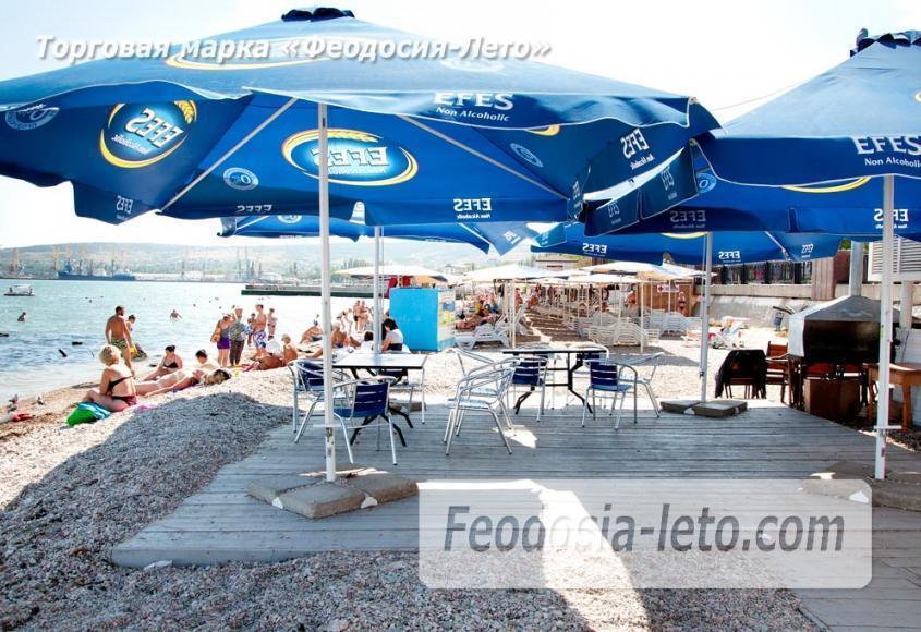 Галечный пляж Камешки в г. Феодосия - фотография № 23