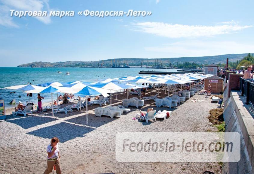 Галечный пляж Камешки в г. Феодосия - фотография № 27