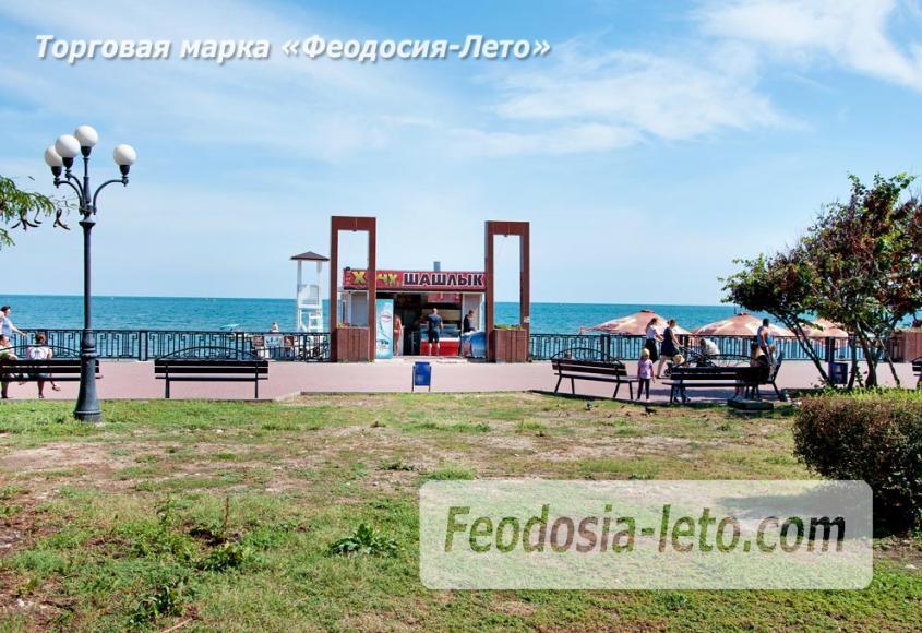Галечный пляж Камешки в г. Феодосия - фотография № 28