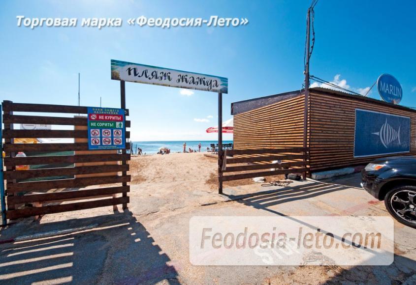 Пляж Жажда в Феодосии - фотография № 9