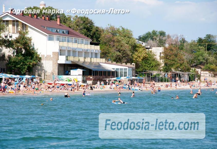 Детский пляж в Феодосии - фотография № 16