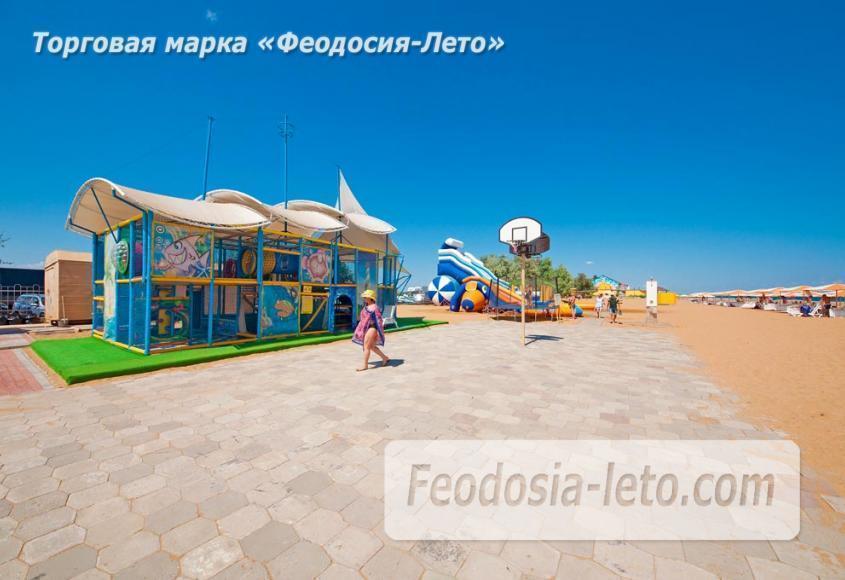 Пляж Алые паруса в Феодосии - фотография № 10