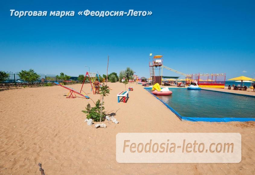 Крым Феодосия песчаный пляж Санрайз - фотография № 5