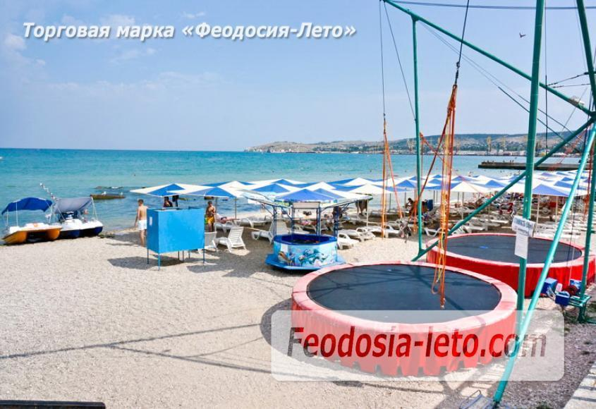 Центральный пляж Камешки в Феодосии - фотография № 2