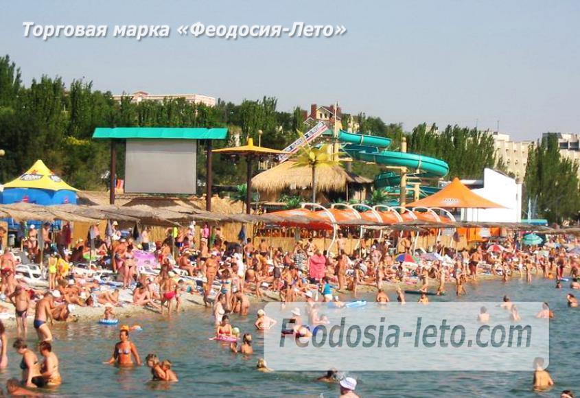 Центральный пляж Камешки в Феодосии - фотография № 5