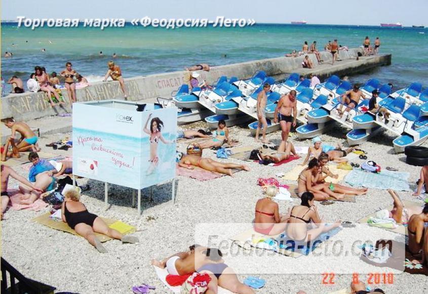 Центральный пляж Камешки в Феодосии - фотография № 9