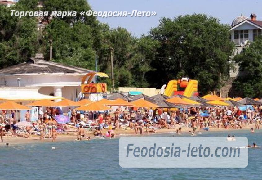 Первый городской пляж в Феодосии - фотография № 12