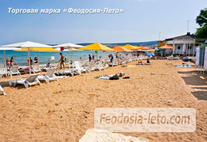 Первый городской пляж в Феодосии - фотография № 10