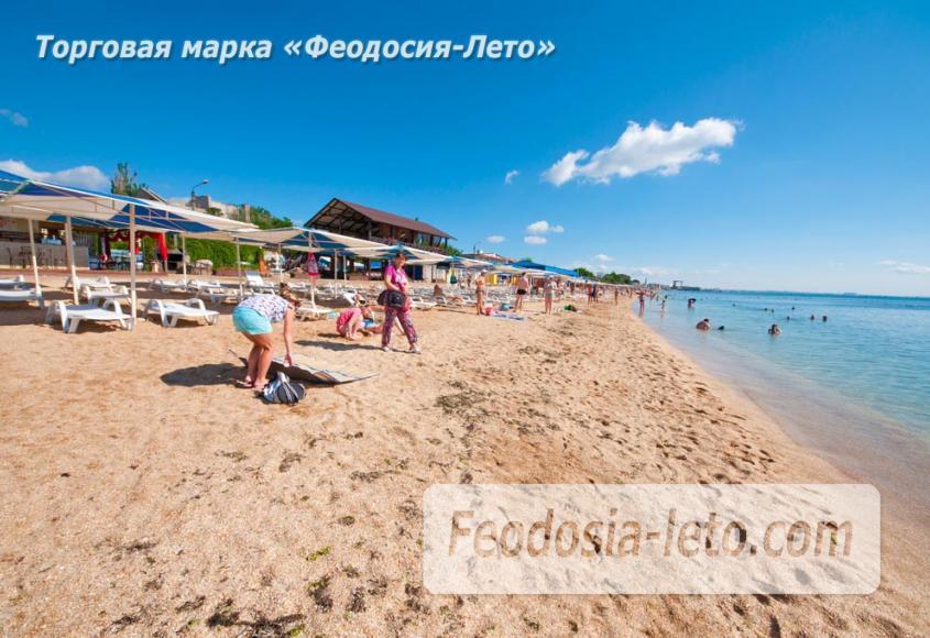 Пляж Баунти в Феодосии - фотография № 4