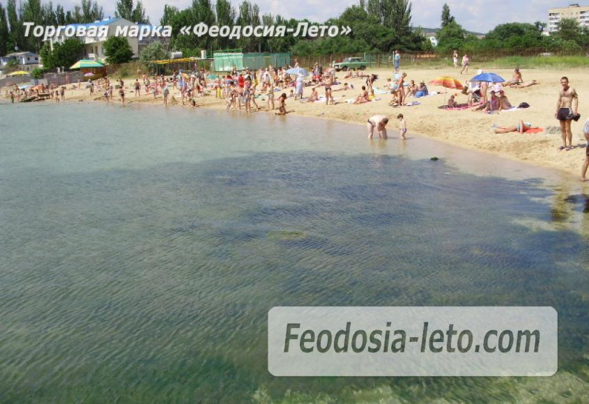 Пляж стадиона Динамо в Феодосии - фотография № 3