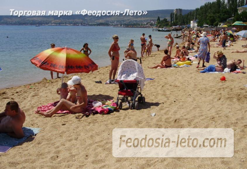 Пляж стадиона Динамо в Феодосии - фотография № 4