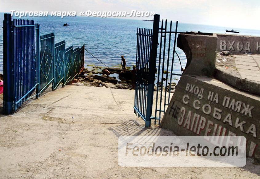 Пляж Ай-Петри, рядом с кафе Суворинские камни в Феодосии - фотография № 2
