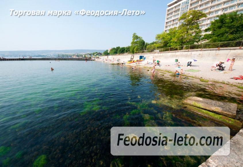 Пляж Ай-Петри, рядом с кафе Суворинские камни в Феодосии - фотография № 16