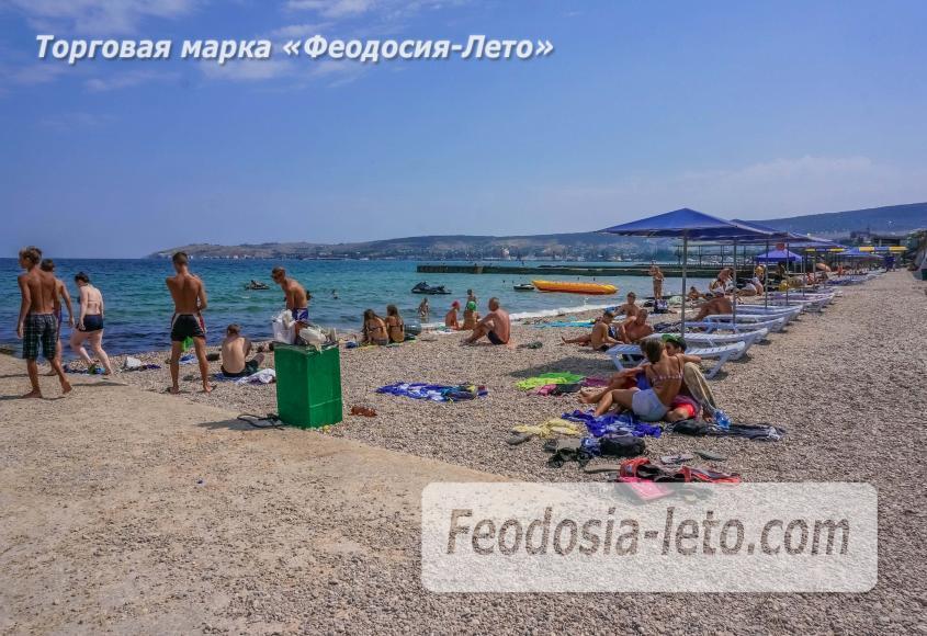 Пляж Ай-Петри, рядом с кафе Суворинские камни в Феодосии - фотография № 5
