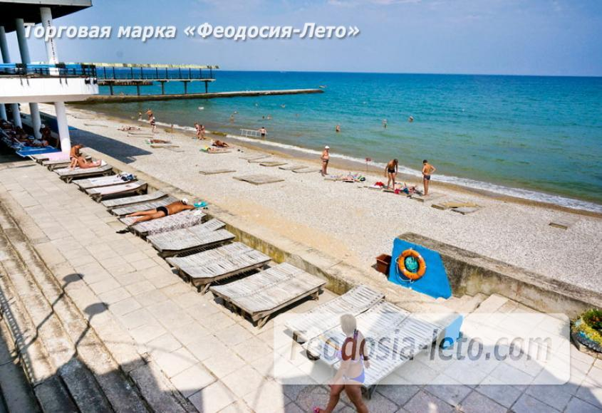 Пляж Министерства обороны в Феодосии - фотография № 7