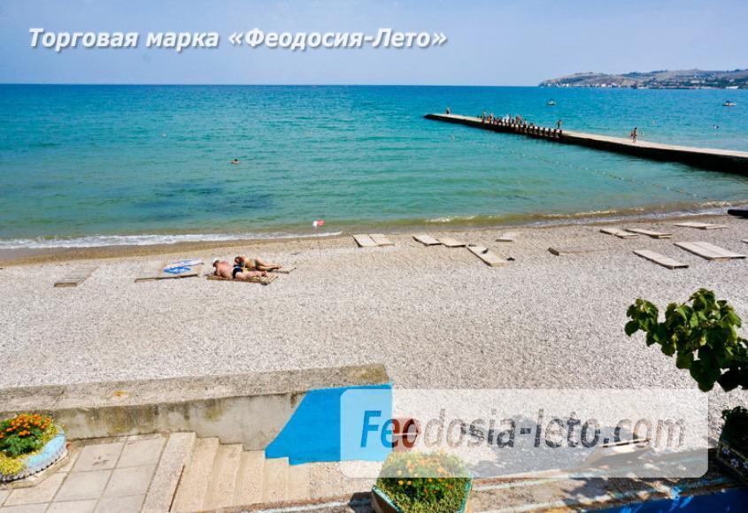 Пляж Министерства обороны в Феодосии - фотография № 8