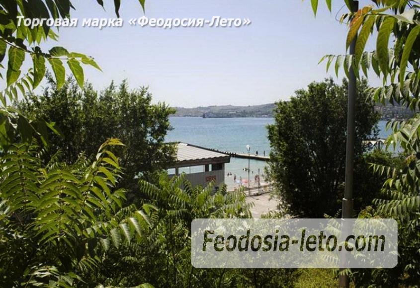 Пляж Министерства обороны в Феодосии - фотография № 10