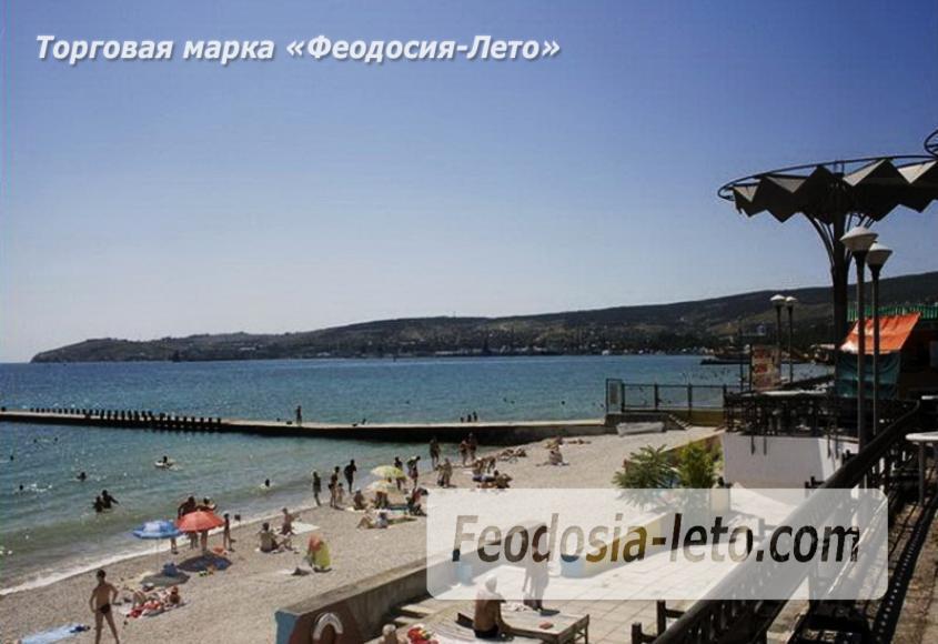 Пляж Министерства обороны в Феодосии - фотография № 11